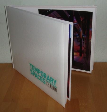 """Temporary Spaces"" - Martin Eberle (Hg.)"