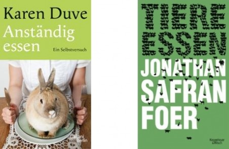 Karin Duve und Jonathan Safran Foer