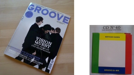 GROOVE Juli/August mit Kaden-Mix-CD