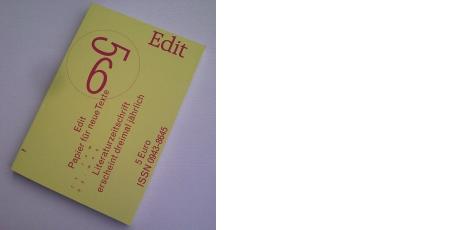 Sommerausgabe: Edit #56