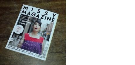 Missy Mag #4/2013 - Glückwunsch zu 5 Jahre Erscheinen!