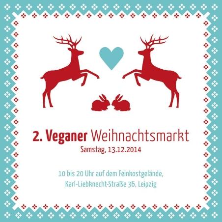 Flyer 2. Veganer Weihnachtsmarkt