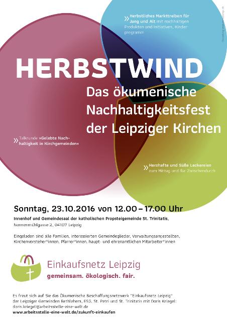 Herbstwind Plakat